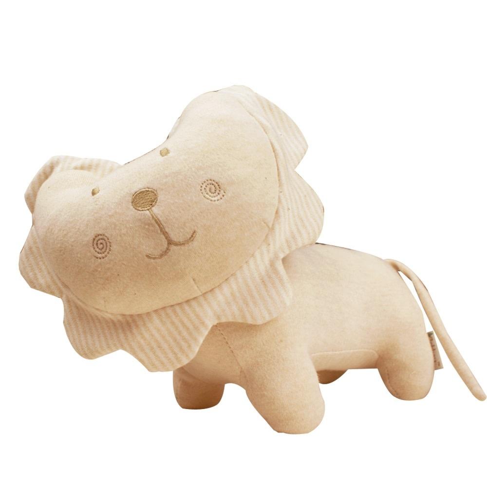enlee Certified Organic Plush Toy, Lion