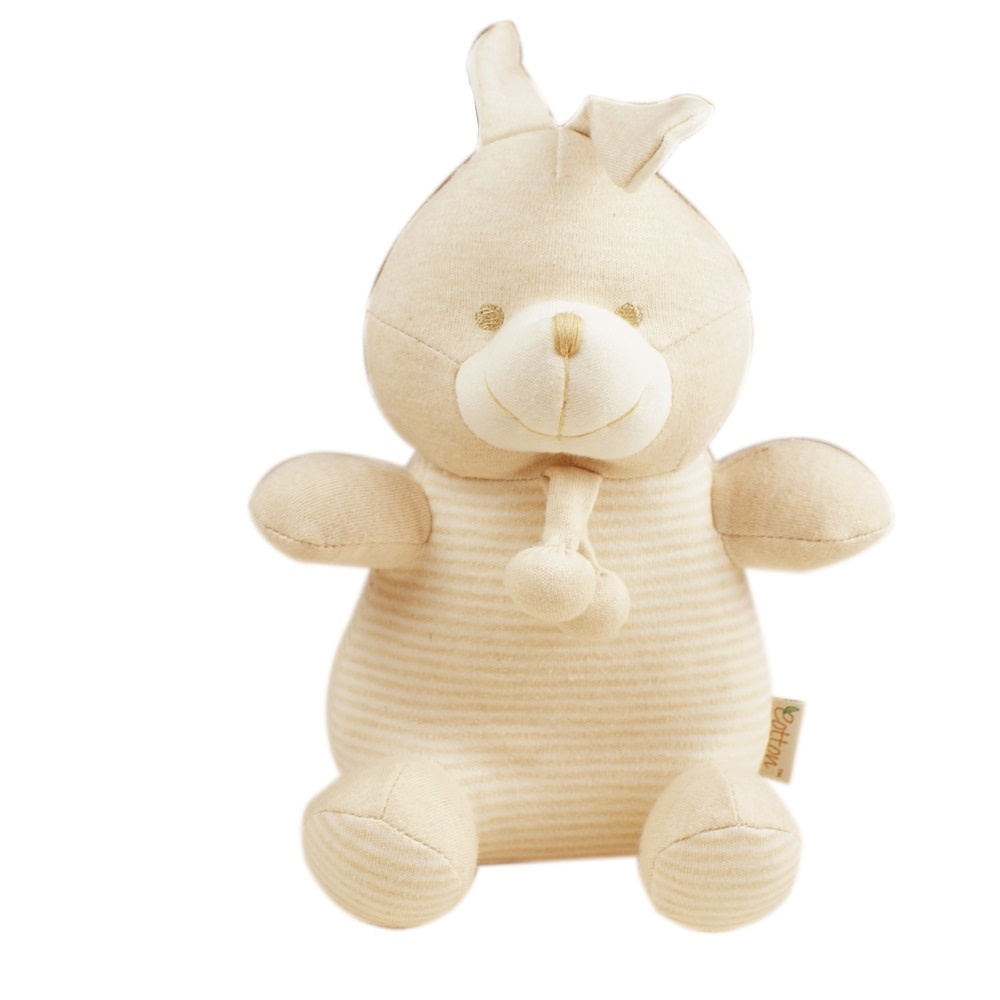 Certified Organic Plush Toy, Bunny