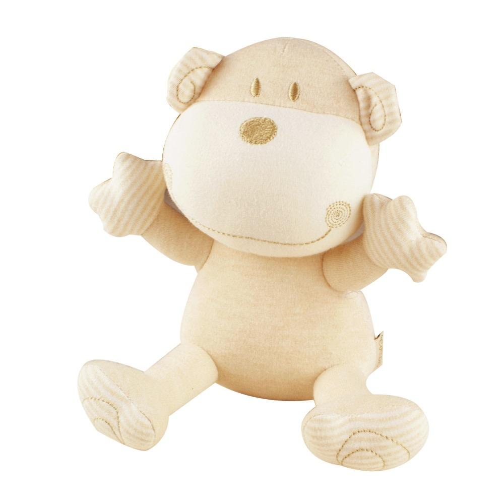 Certified Organic Plush Toy, Monkey