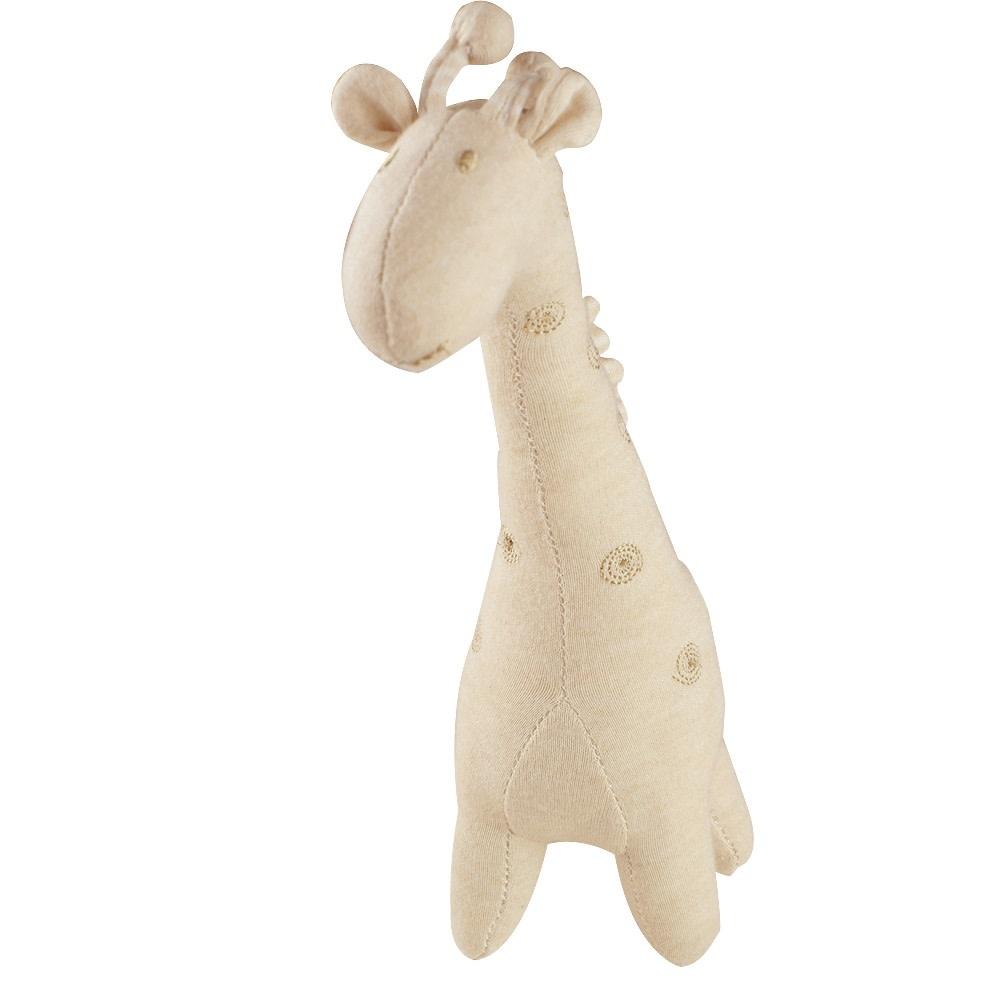 Certified Organic Plush Toy, Baby Giraffe