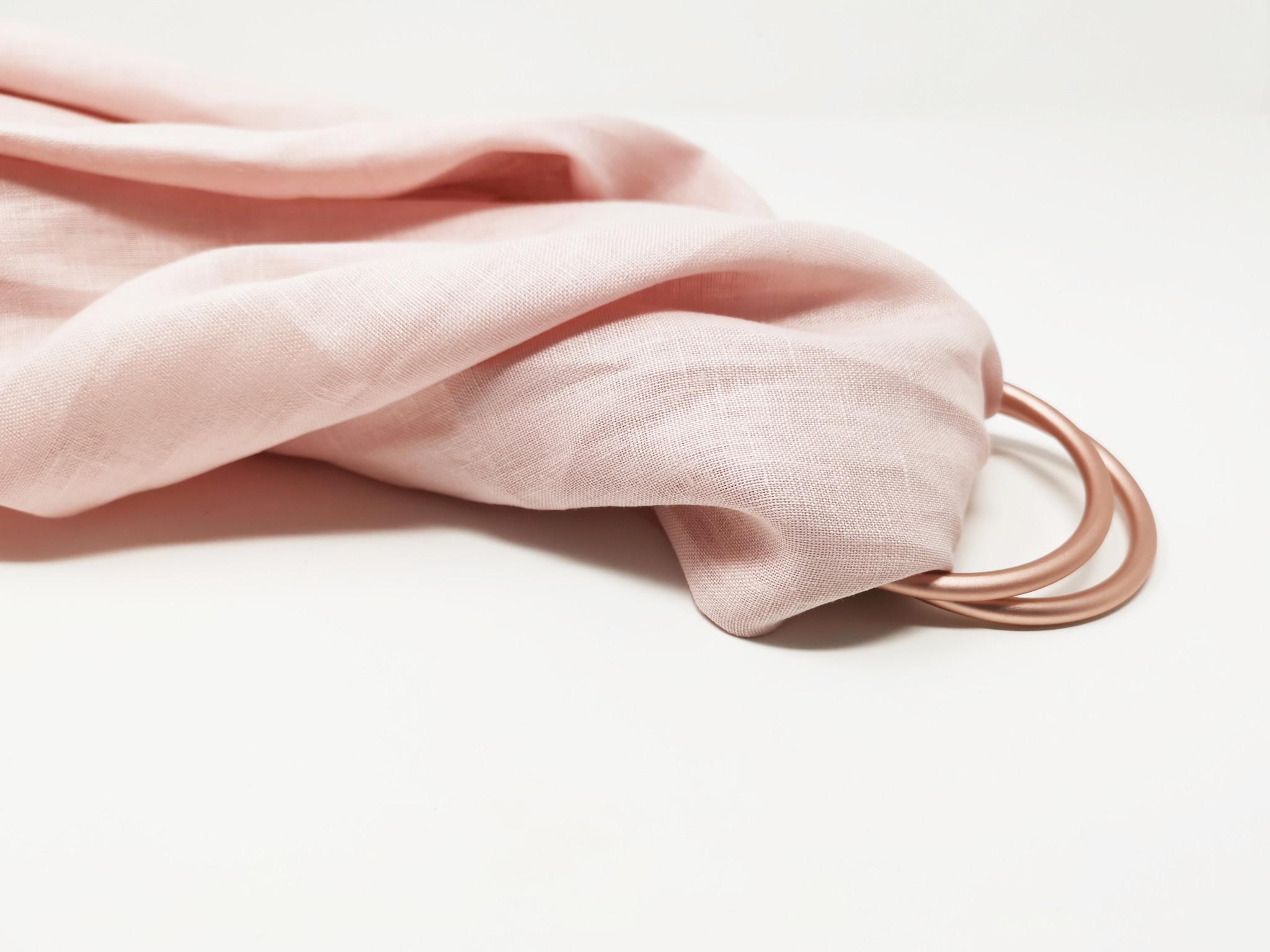 enlee Organic Ring Sling Baby Carrier, Rose