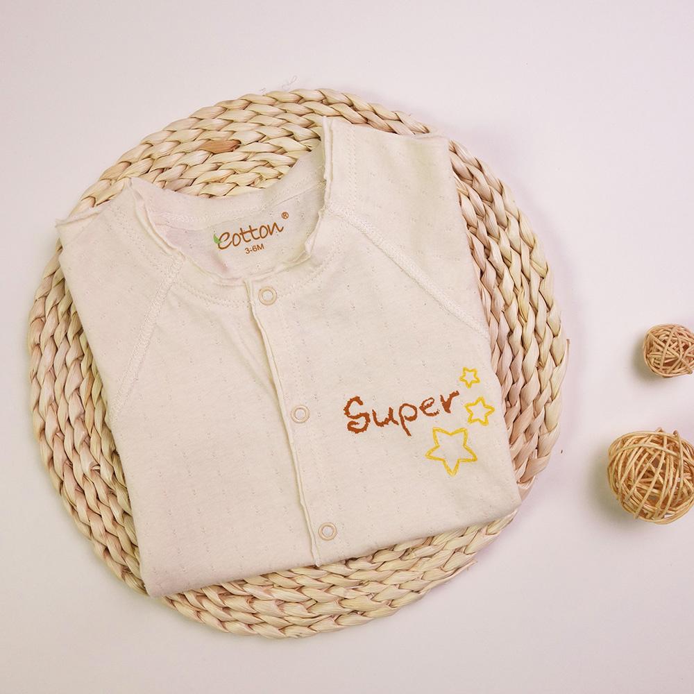 Certified Organic Unisex Baby Summer Romper