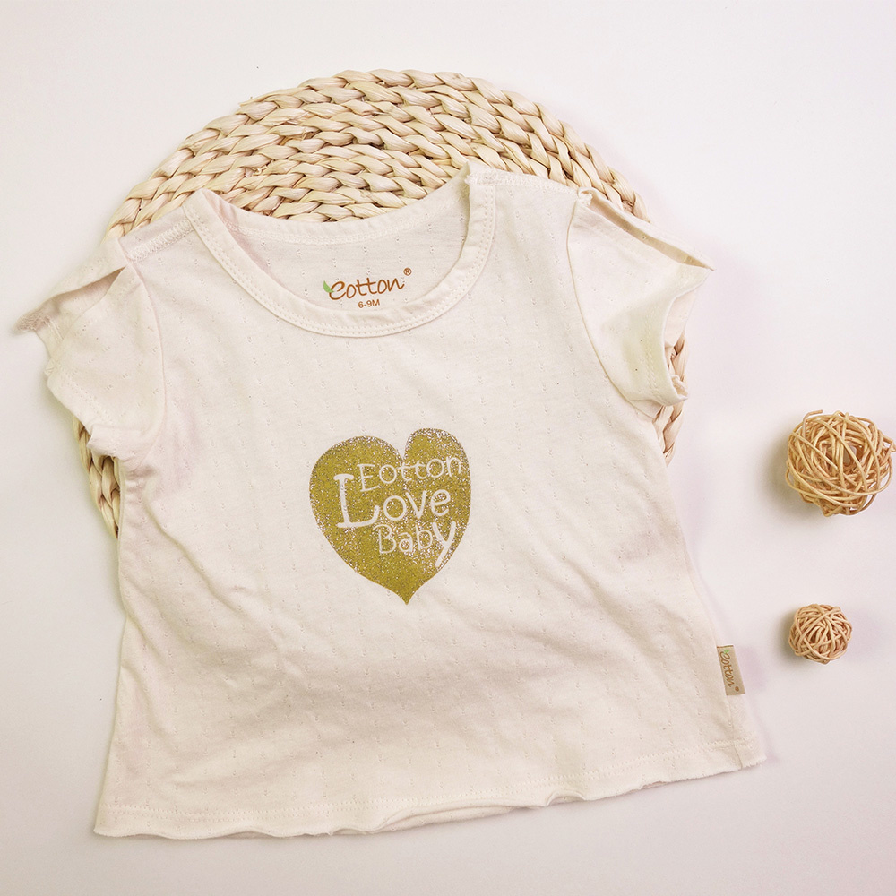 Certified Organic Baby Girl 2pc Outfit