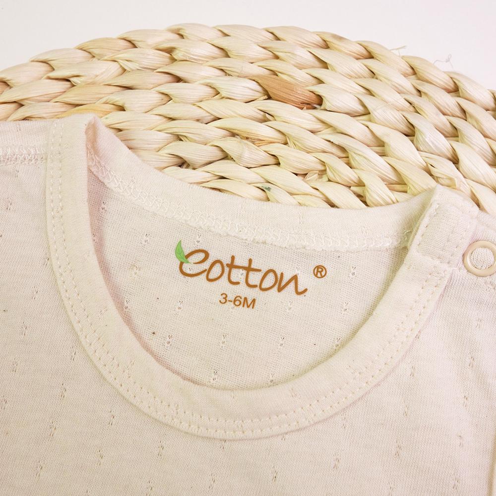 Certified Organic Unisex Baby Sleeveless Bodysuit
