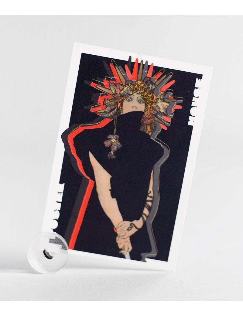 Tät Tat Moiré Postcard Holder