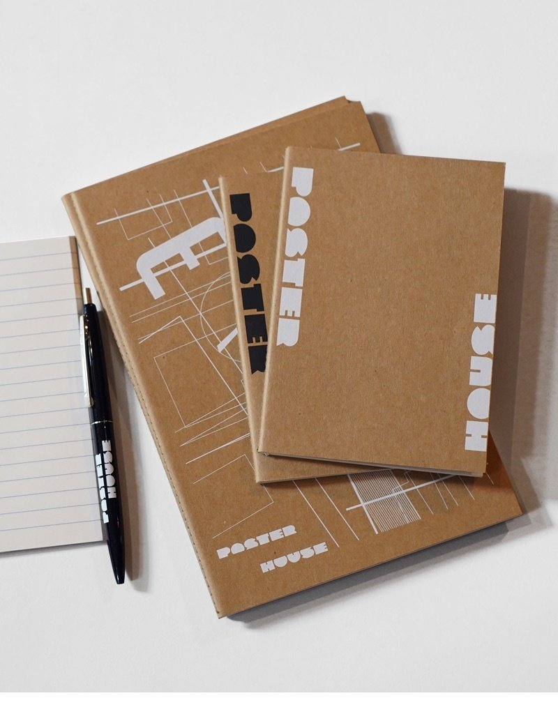 POSTER HOUSE Small Poster House Logo Notebook