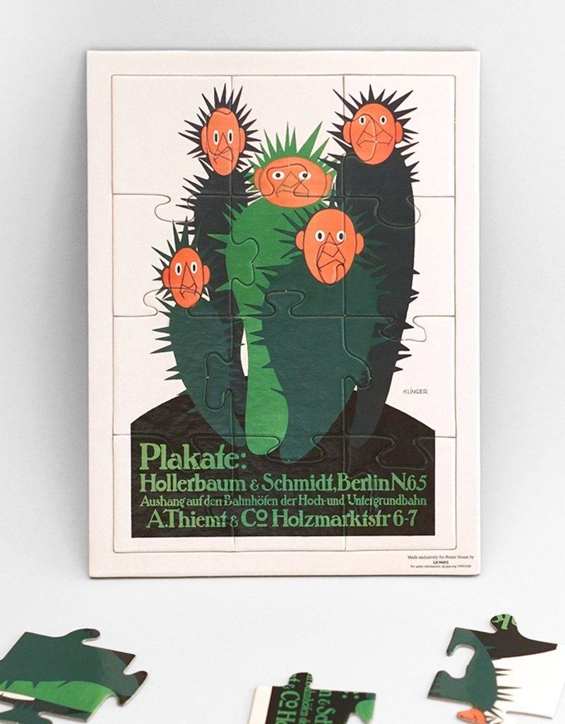 POSTER HOUSE Julius Klinger Cacti Puzzle