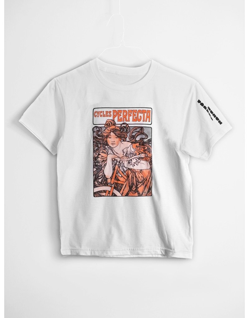 POSTER HOUSE Alphonse Mucha, Cycles Perfecta Youth T -Shirt