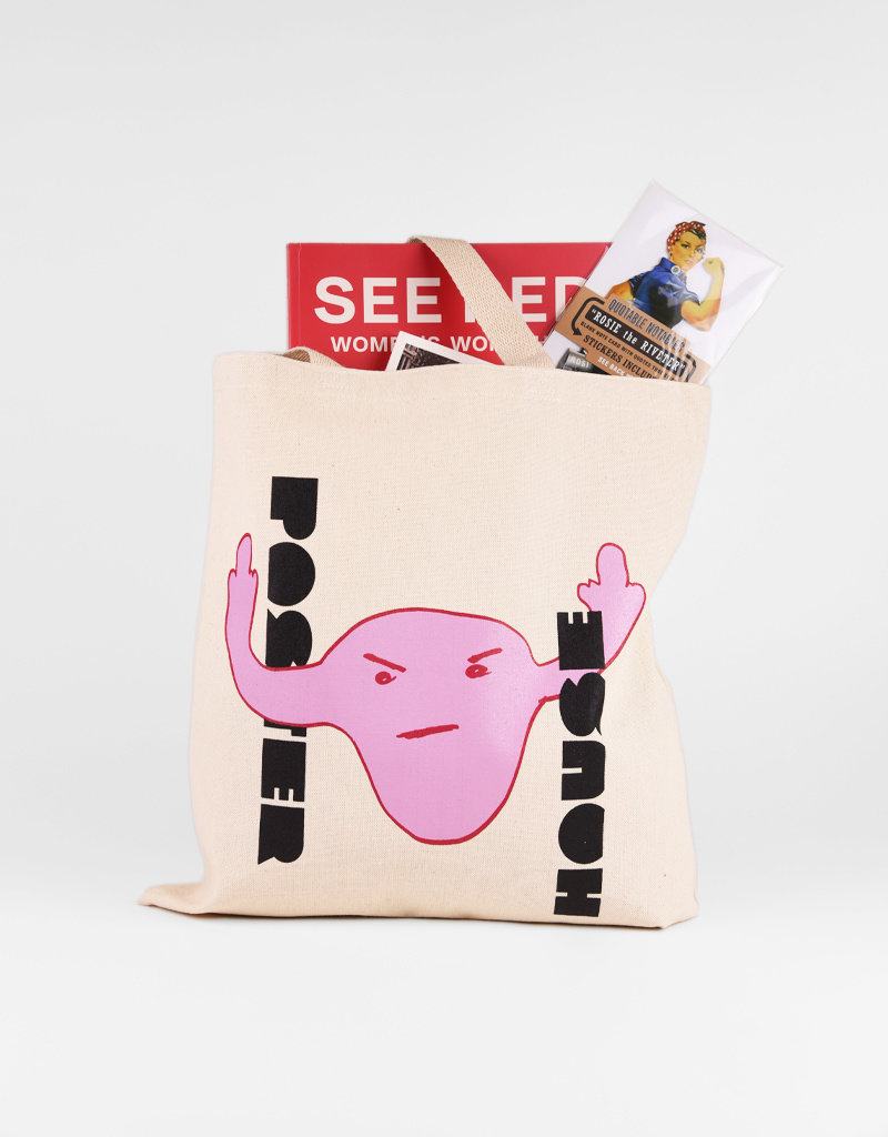 POSTER HOUSE Fists Up Combined Exhibition Tote