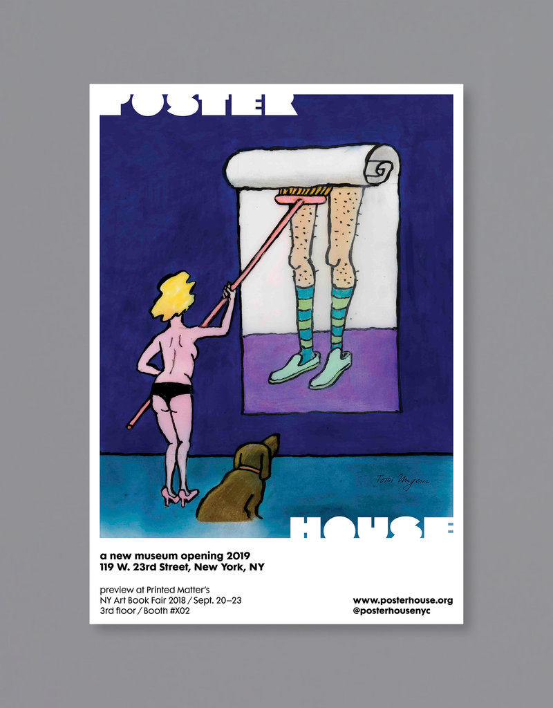 POSTER HOUSE Tomi Ungerer Poster House P.S. 1 Bookfair (Cheeky)