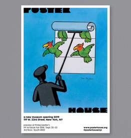 POSTER HOUSE Tomi Ungerer Poster House P.S. 1 Bookfair (Birds)