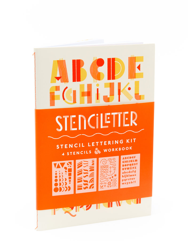 Princeton Architectural Press Stenciletter: Stencil Lettering Kit