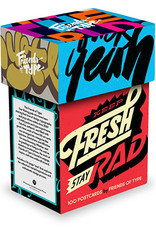 Keep Fresh, Stay Rad 100 Postcards by Friends of Type