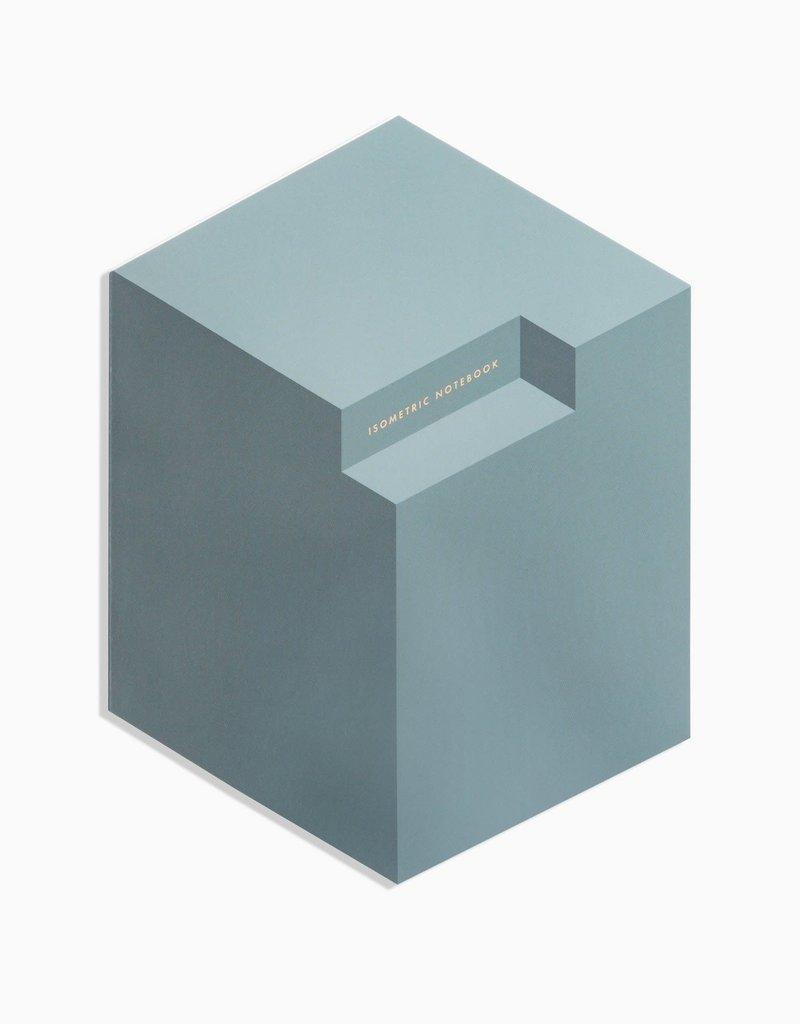 Poketo Isometric Notebook in Concrete