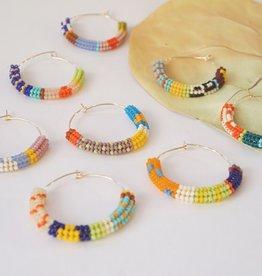 Kisiwa Cuerda Hoop Earrings