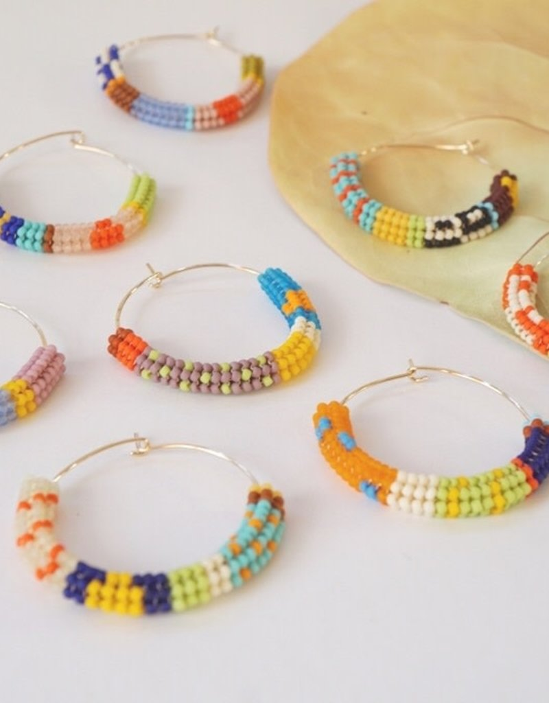 Kisiwa Cuerda Hoop Earrings