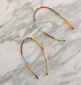 Kisiwa Rangi Drop Earrings by Kisiwa