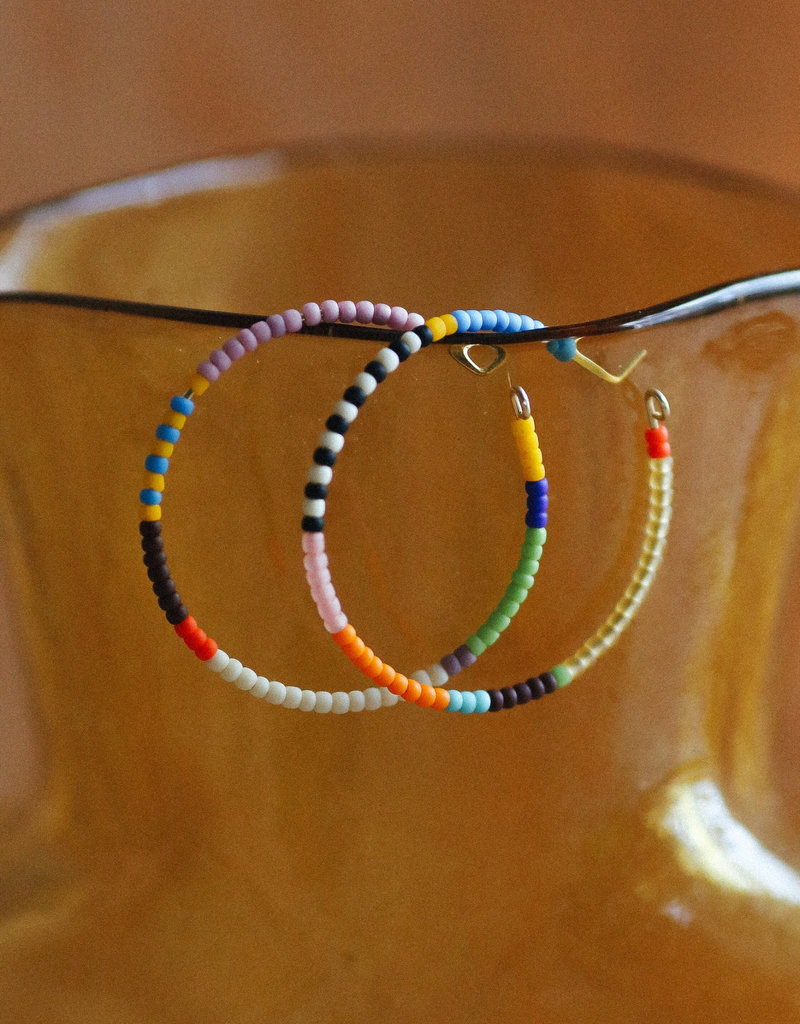 Kisiwa Large Rangi Hoop Earrings