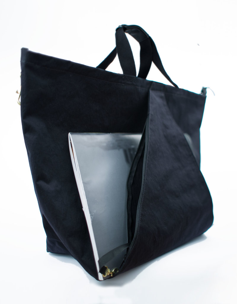 Tack Triangle Bag (Black Nylon)