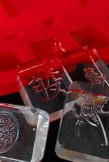 Mahjong Chocolate Ice Mold from Chop Suey Club