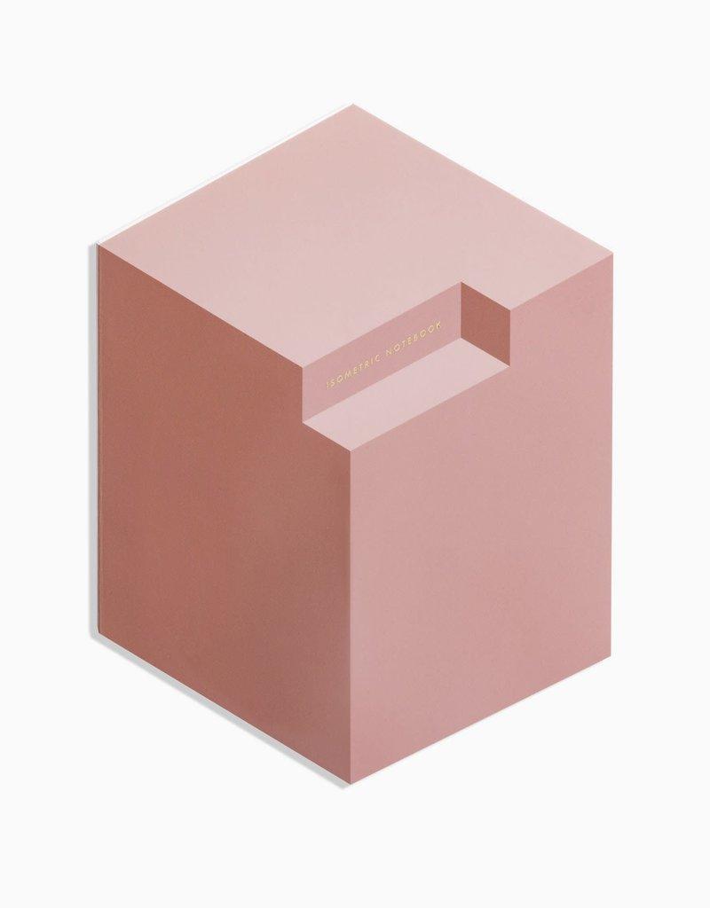 Poketo Isometric Notebook in Brick