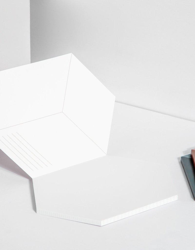 Poketo Poketo Isometric Notebook in Concrete
