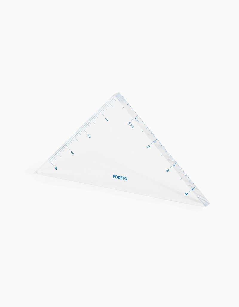 Poketo Acrylic Triangle Ruler