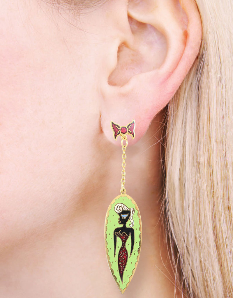 Acme Studios IDEAL BEAUTY Earrings by Georganne Deen acme