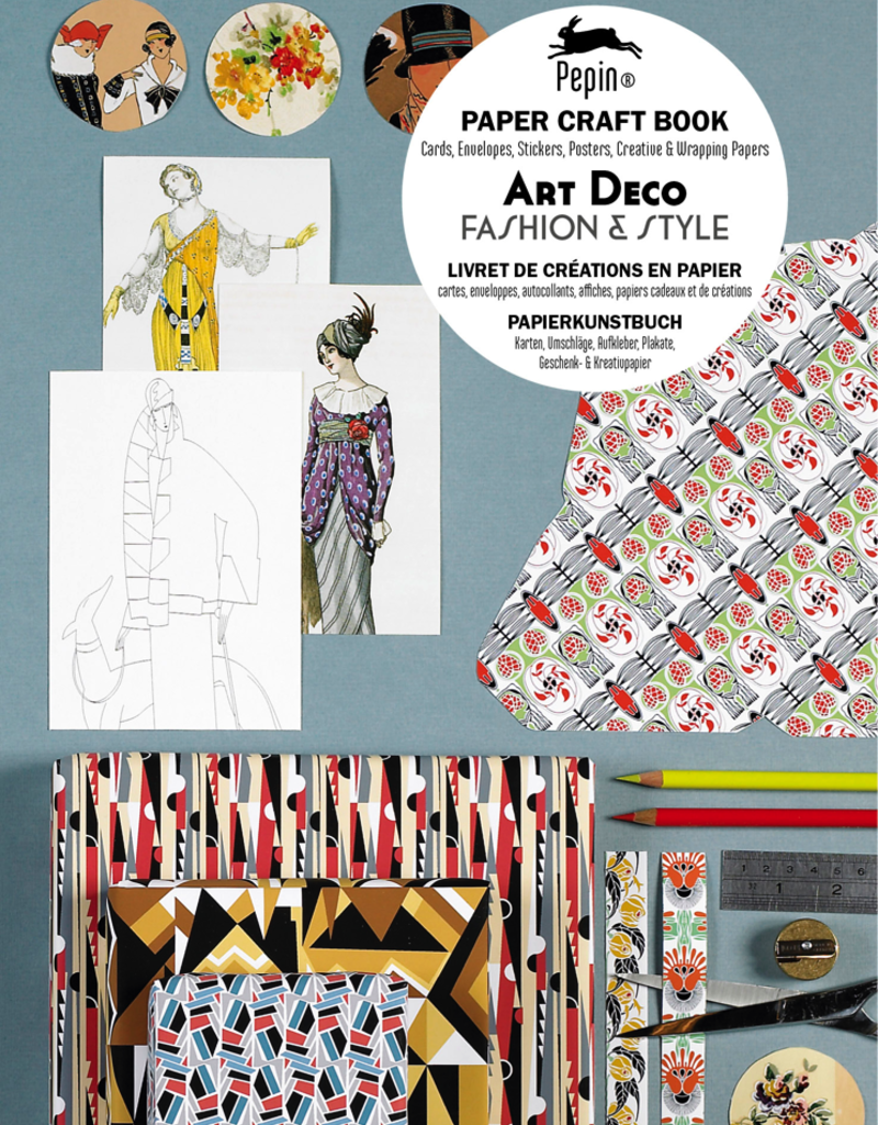 Pepin Pepin Paper Craft Art Deco Book