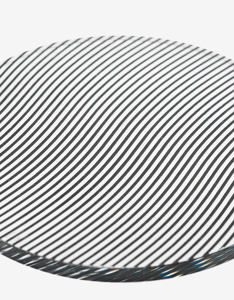 Areaware Glass Grid Coaster - Wave