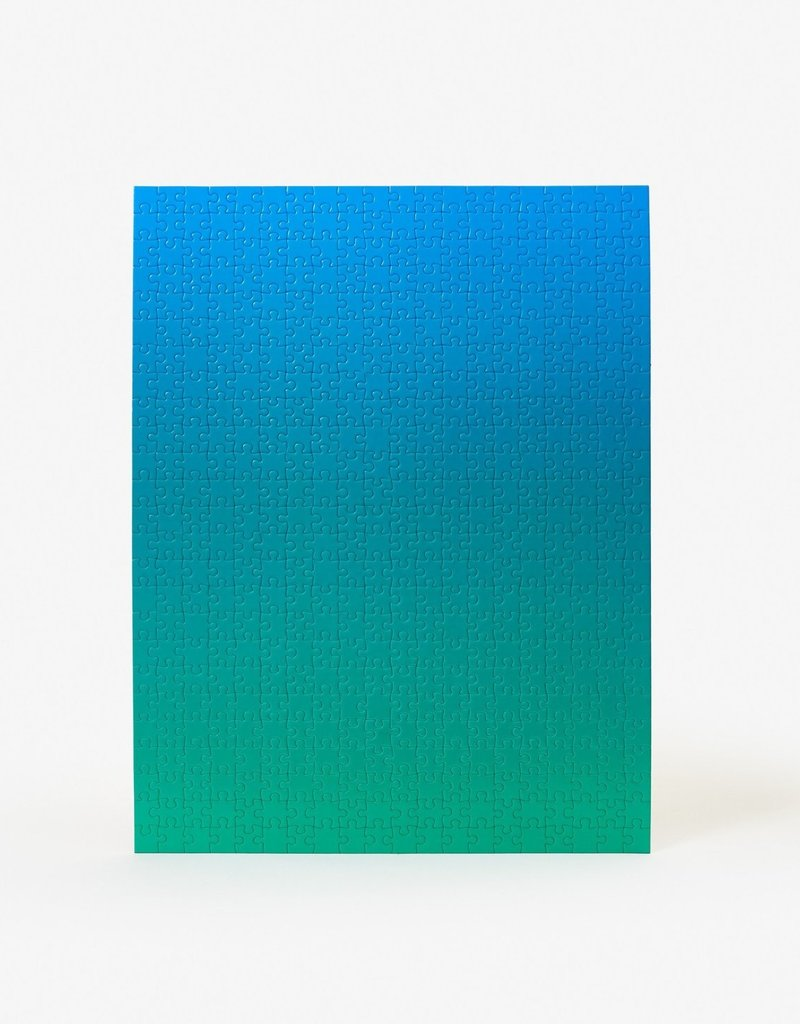 Bryce Wilner Gradient Puzzle Small (Blue/Green)