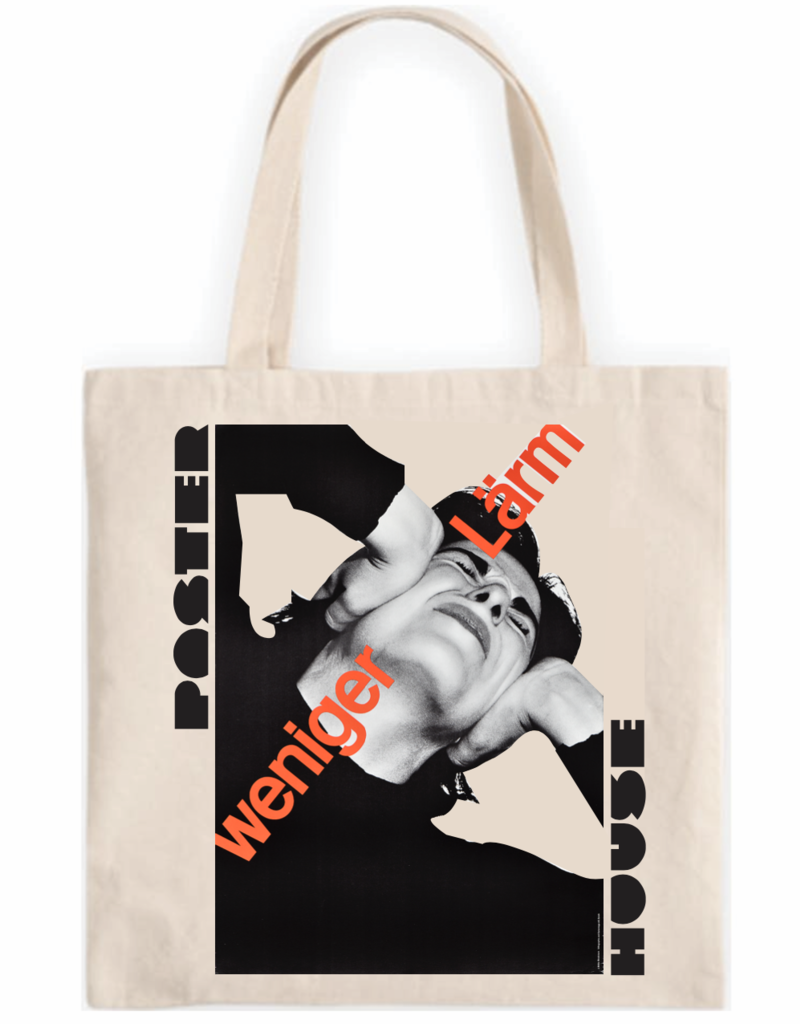 POSTER HOUSE Swiss Grid Exhibition Tote