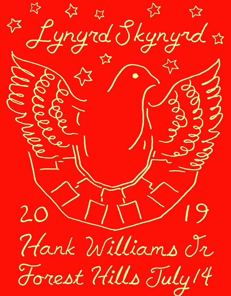 Lynyrd Skynyrd Forest Hills Poster