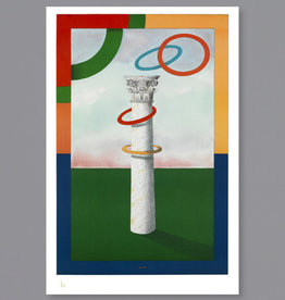 Milton Glaser Studio Column with Rings, 2004