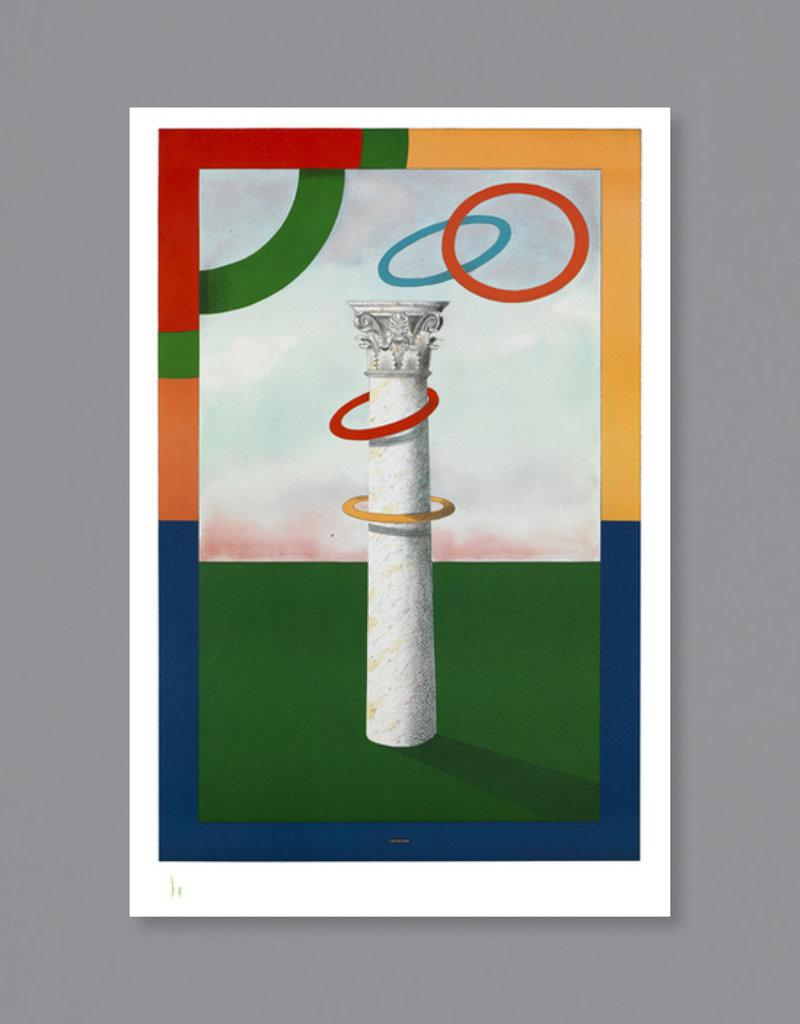 Milton Glaser Studio Milton Glaser: Column with Rings, 2004
