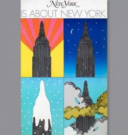 Milton Glaser Studio New York Is About New York, 1968