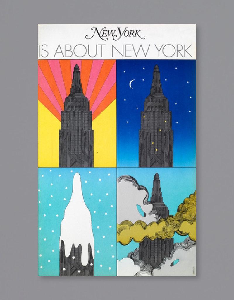 Milton Glaser Studio Milton Glaser: New York Is About New York, 1968