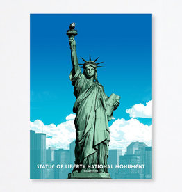 Fifty-nine Parks Statue of Liberty National Monument by Oliver Barrett