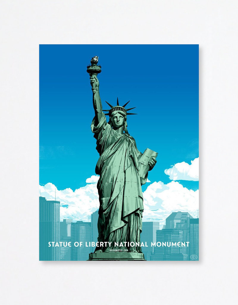 Fifty-nine Parks Oliver Barrett: Statue of Liberty National Monument