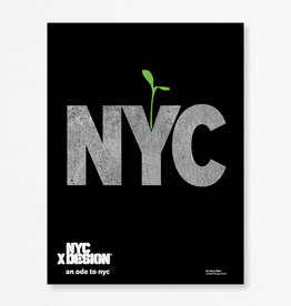 An Ode to NYC Poster by Harry Allen