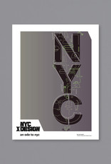 An Ode to NYC Poster by Jon Santos