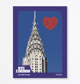 An Ode to NYC Poster by Timothy Corrigan For Perennials Fabrics