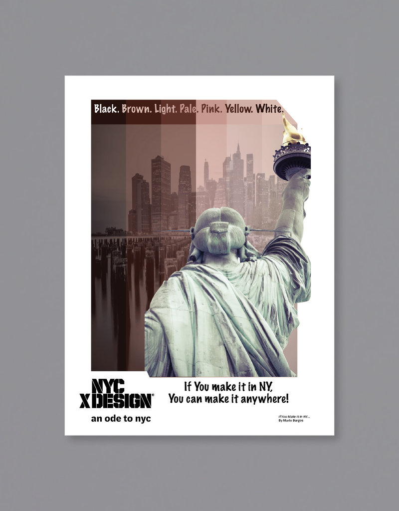 An Ode to NYC If You Make It In NY... Poster by Marie Burgos