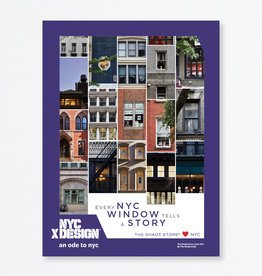 An Ode to NYC The Shade Store Loves NYC Poster by The Shade Store
