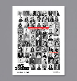 An Ode to NYC Womxn In Design Poster by Lora Appleton