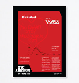An Ode to NYC We keep from goin' under Poster by Jack Travis
