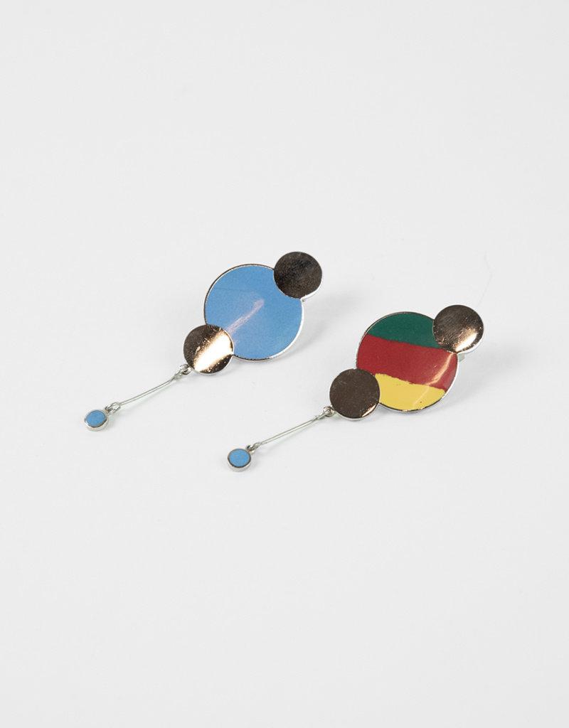 Acme Studios Milton Glaser Untitled Earrings Acme