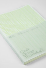 Craft Design Technology A5 Lined Notebook (Pale Green)