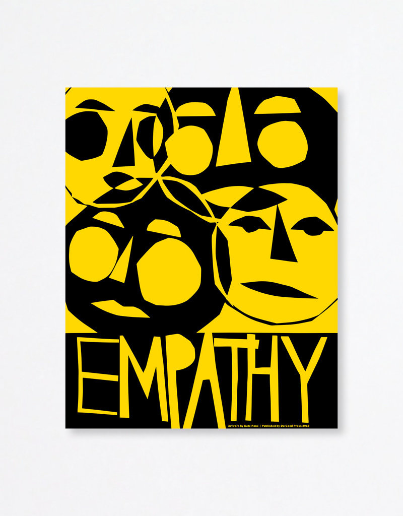 Du-Good Press Empathy by Kate Pane - In Unity Poster