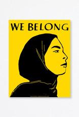 Du-Good Press Zaida Rose: We Belong - In Unity Poster